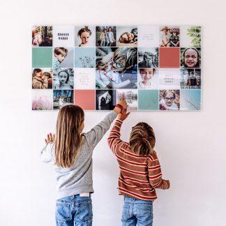 Plexiglas Collages