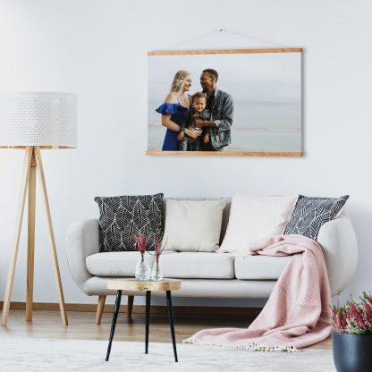 Foto op poster met hanger